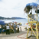 Beach scene, Ricon de Guayabitos, Nayarit, MX